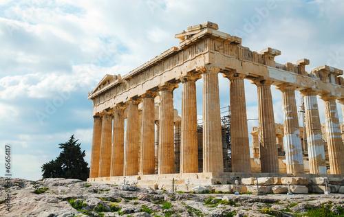 Staande foto Athene Parthenon at Acropolis in Athens, Greece