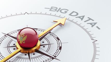 Montenegro. Big Data Concept