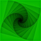 Graphic design of tunnel blades spiral pattern