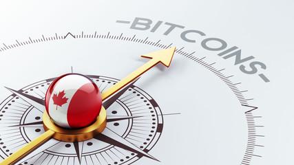 Canada Bitcoin Concept