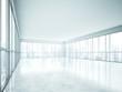 empty white interior