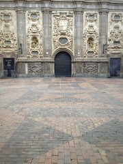 entrada de una iglesia en Zaragoza