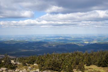 Berg Brocken Aussicht
