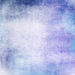 Blue canvas abstract background