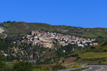 piccolo paese in italia