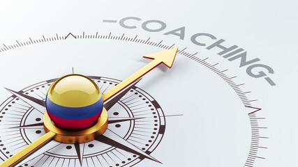 Colombia Coaching Concept
