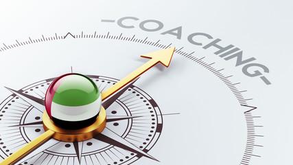 United Arab Emirates. Coaching Concept