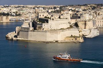 Fort St Angelo - Grand Harbor - Valletta - Malta