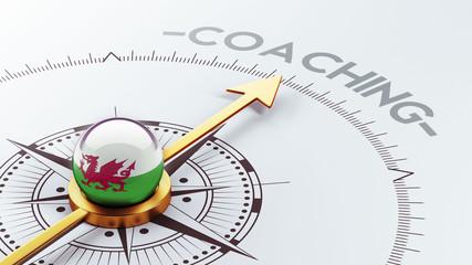 Wales Coaching Concept
