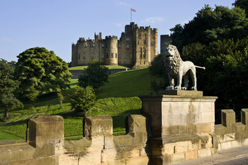 Alnwick Castle - Northumberland - England