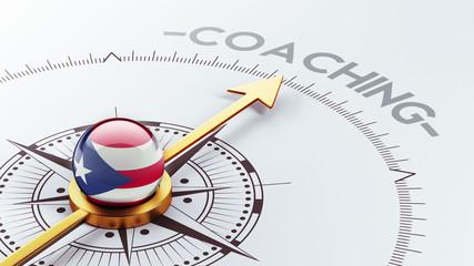 Puerto Rico Coaching Concept