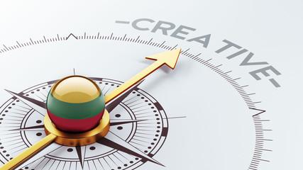 Lithuania Creative Concept