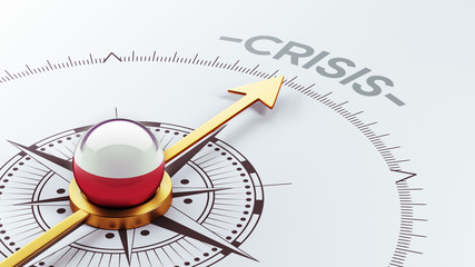Poland Crisis Concept.