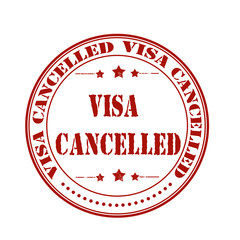 visa cancelled stamp