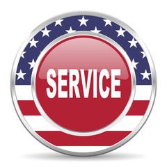 service american icon, usa flag