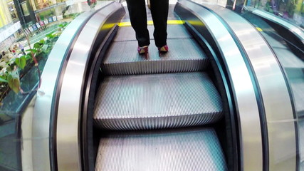 Office centre Escalator footage