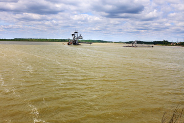 Consequences of catastrophic flood in open pit mine