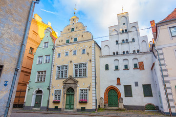 Three Brothers Houses in Riga