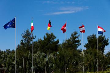 Flaggen in Europa