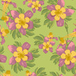 Elegance Seamless flowers background