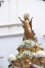 Easter Processions in Nerja Andalucia Spain