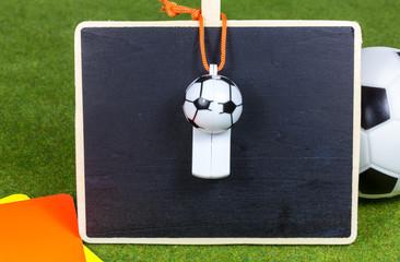 Anzeigetafel für Fußball - Ergebnis