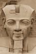 Постер, плакат: The sculpture of the King Ramses II Egypt