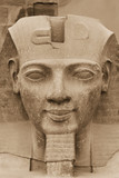 The sculpture of the King Ramses II (Egypt)