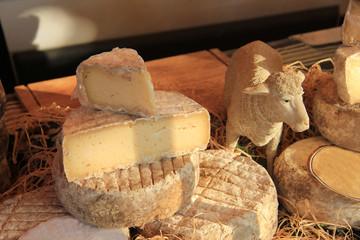 Cheese at a Provencal market