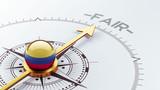 Colombia Fair Concept