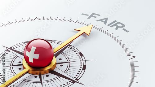 Switzerland Fair Concept