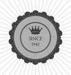 Grey creative sticker