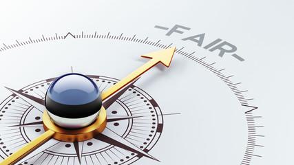Estonia Fair Concept