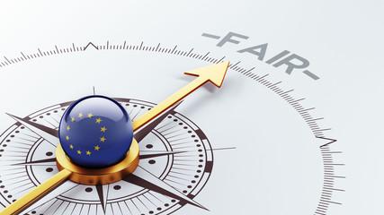European Union Fair Concept