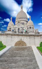 Sacré Coeur de Montmatre à Paris en France