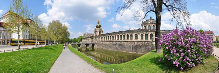 Panoramafoto Zwinger, Dresden / Sachsen