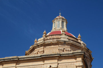 Cupola of cathedral