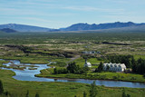 The Thingvellir national park, southwestern Iceland. poster