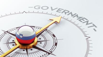 Slovenia Government Concept