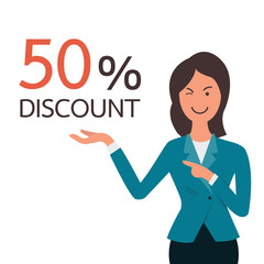 Presenting discount