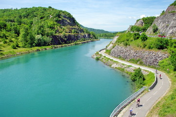 le fleuve du Rhône