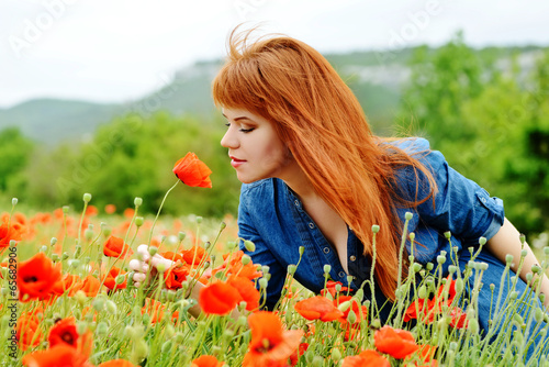 smell of poppy