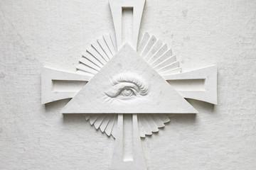 Detail of the eye of God