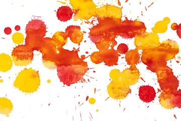 Watercolor blots background