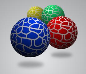 Four balls