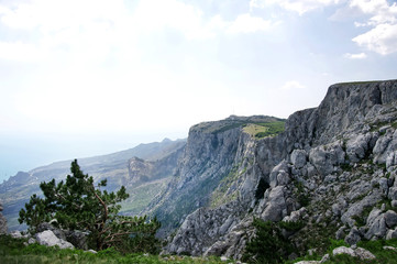 Mountain Crimea in Ukraine