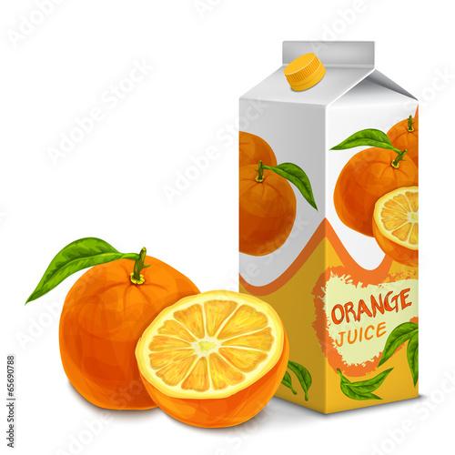 Juice pack orange