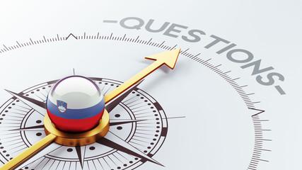 Slovenia Questions Concept