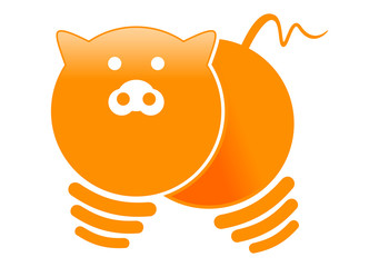 electric pig logo