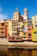 Girona in sunny day